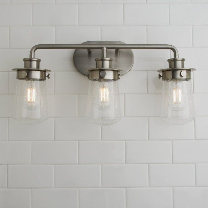Soft Dome Vanity Light 3 Light Contemporary Bathroom Lighting