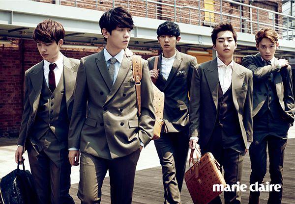 EXO Marie Claire Korea October 2014 Look 5
