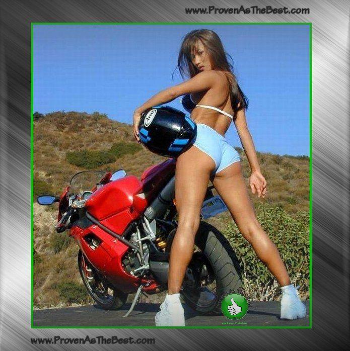 Bikini Fahrrad Motorrad Bilder