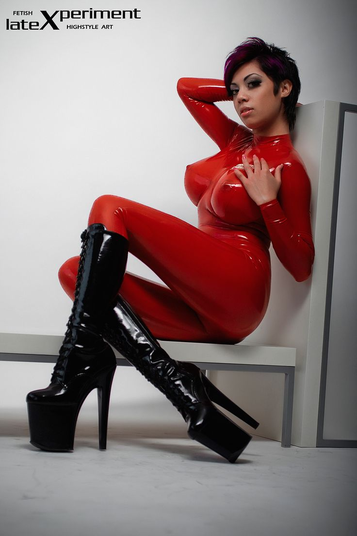 Best latex catsuit