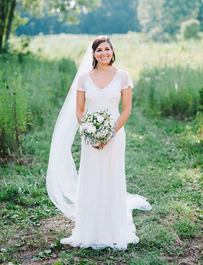 Spectacular Elegant Illinois Prairie Wedding Anna Matt