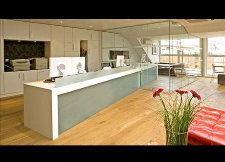 Beau Buy Minimalist Design In Brilliant White Avonite Reception Desk