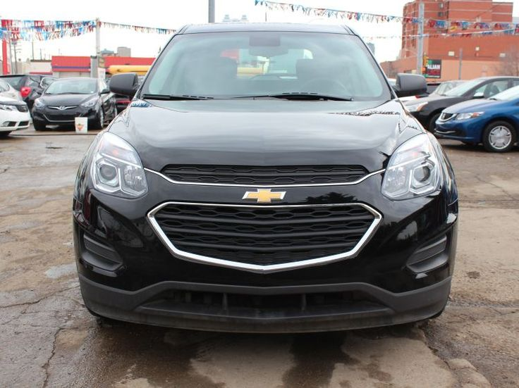 2017 Chevrolet Equinox LS AWD Looking for a just-like-new SUV that really  delivers value? Check out this bold Black 2017 Chevrolet Equinox which  features