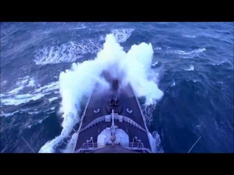 """FREGATE FRANÇAISE : EN PLEINE TEMPETE """" Force 11 """" Échelle de Beaufort . HD1080p - YouTube"""