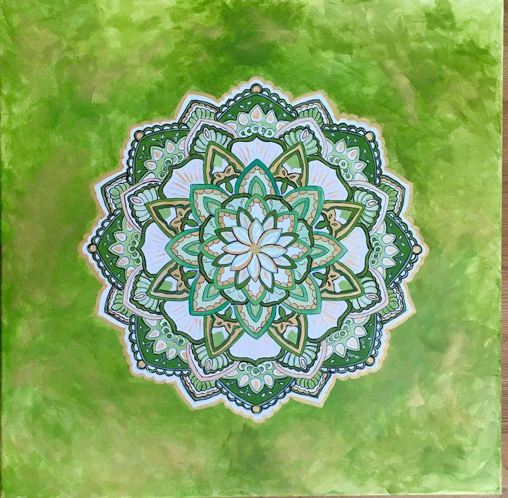 Mandala Sanacion 60x60 acrílicos