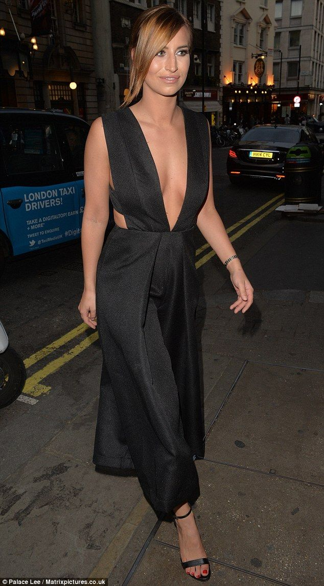 Who would have thought?Despite oozing confidence, just days earlier, the TOWIE star confe...