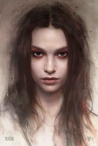 Tom Bagshaw - Portrait Studies