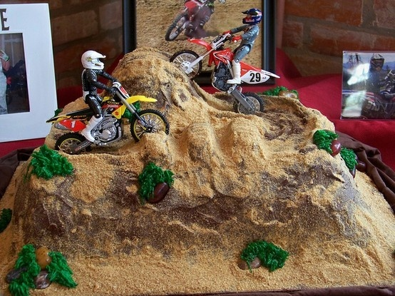 17 Best Images About Dirt Bike Cake On Pinterest