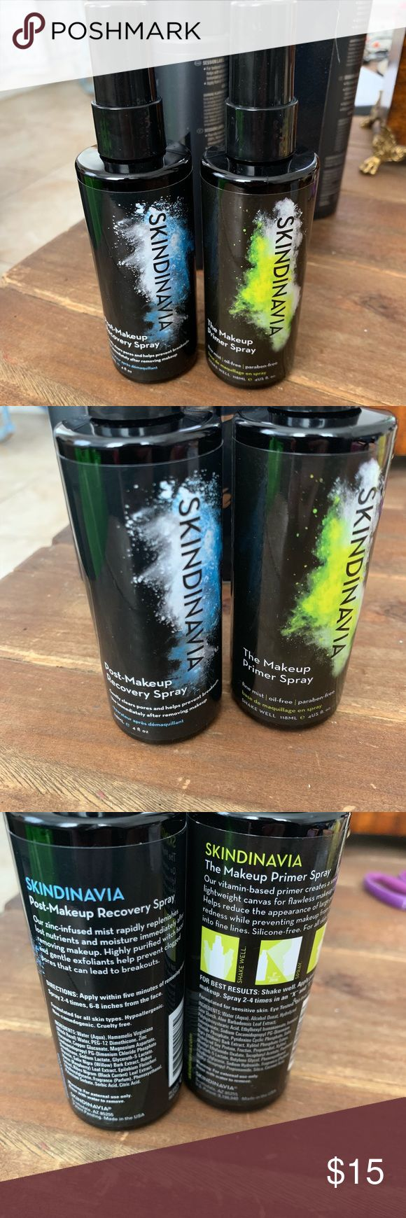 NEW Skindinavia makeup primer & post spray Makeup primer