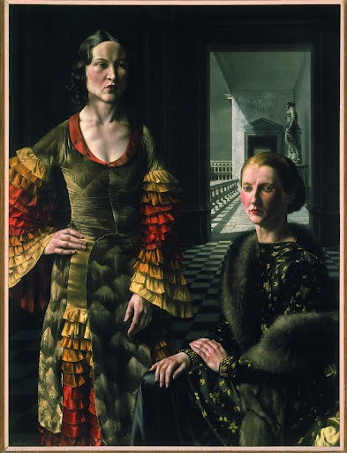 """""""Dubbel vrouwenportret (Double Portrait of Women)"""", 1937 / Carel Willink (1900-1983) / Private Collection"""