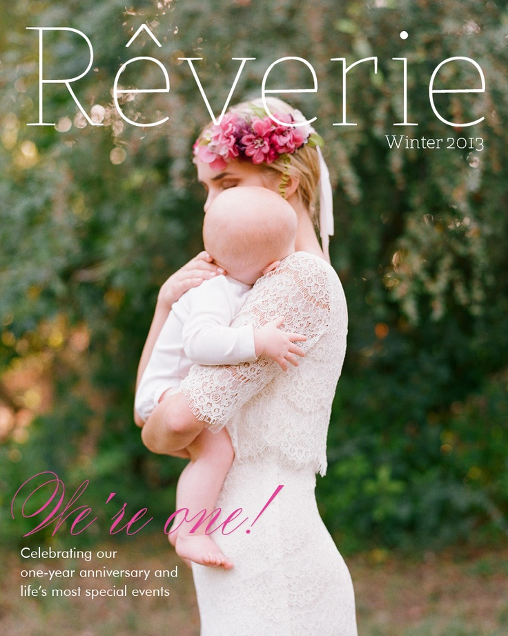 Rêverie magazine winter/2013 #wedding #fashion #lifestyle #design #quarterly #free
