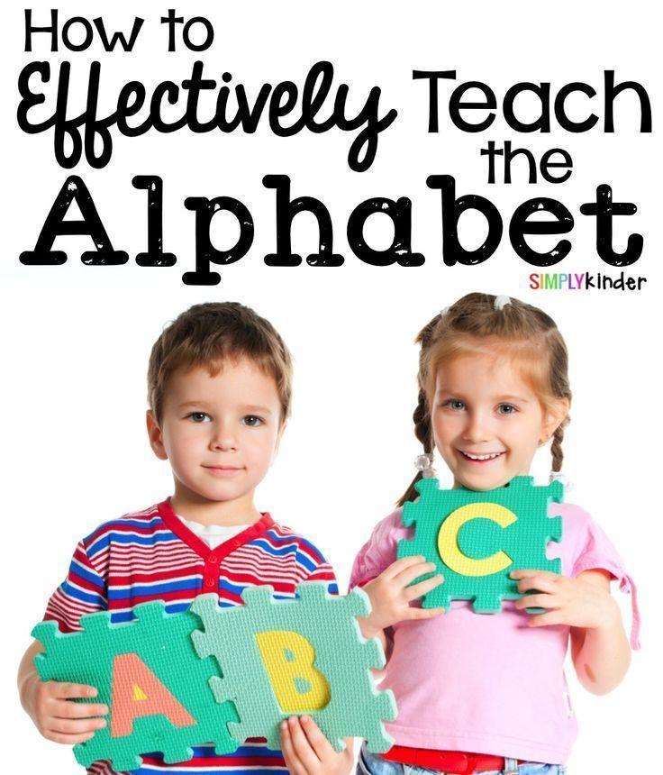How To Teach The Alphabet  Simply Kinder, Kindergarten
