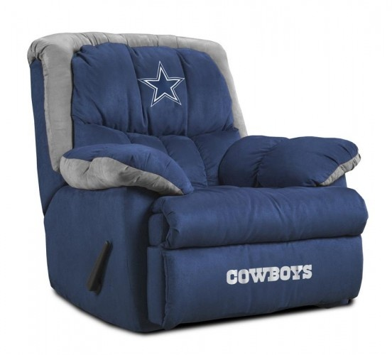 Dallas cowboys home team recliner man cave pinterest for Furniture 0 percent financing