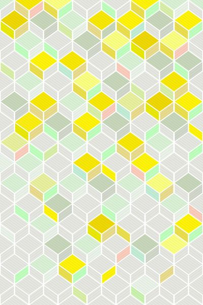 CUBE YELLOW by kind of style