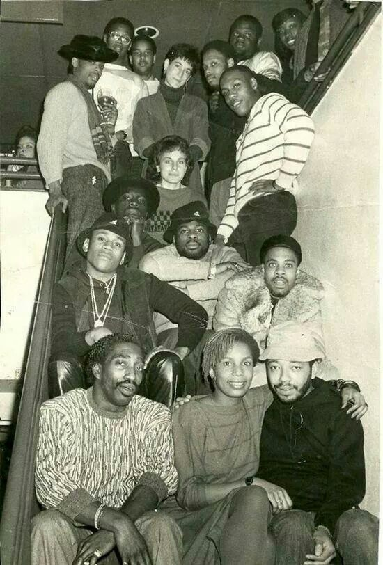 When hip hop was on! Andre Harrell, Russell Simmons, Ll Cool J, Jam Master Jay of Run DMC, Whodini, etc...