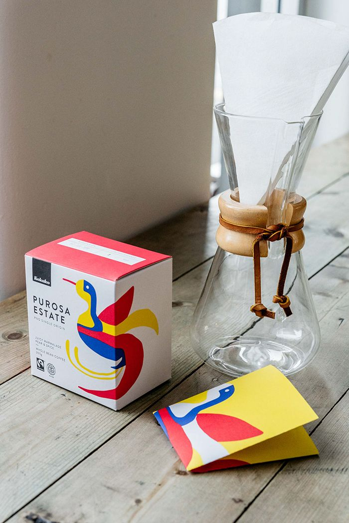 . Purosa Estate Coffee  Packaging