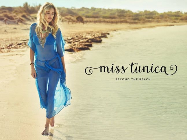 Swedish clothing brand named Miss Tunica is focused on tunics