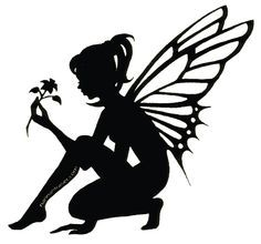 male fairy silhouette - Google Search