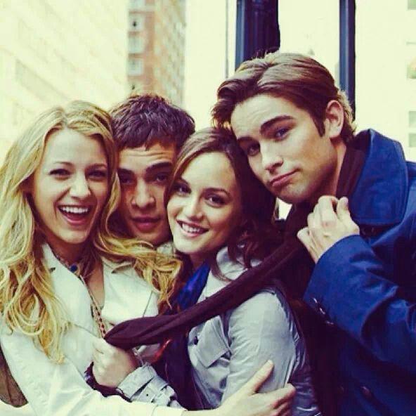 Gossip girl, la meilleure série, les meilleurs acteurs :)))) ♥