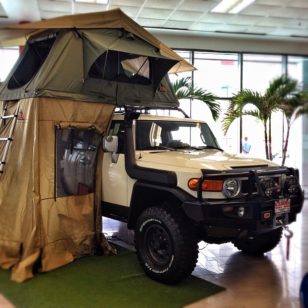 #Toyota FJ. This one is ready for an adventure!