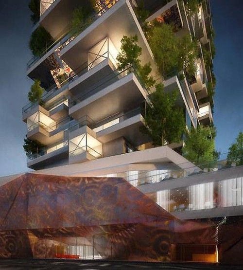 Futuristic Architecture, Design Concept, Urban Village