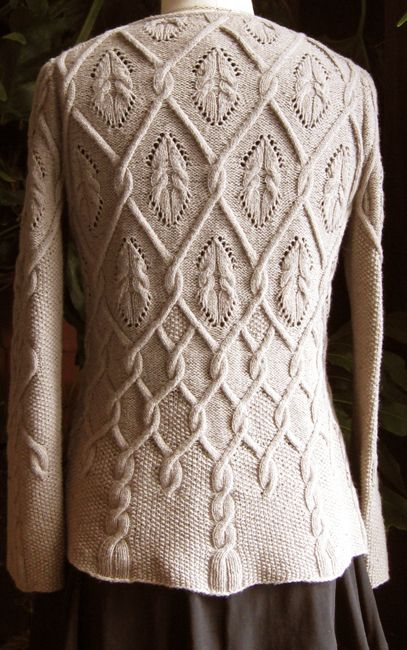 Pattern is not free, but very beautiful! Knit sweater