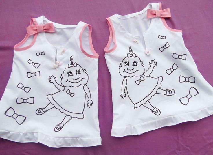 My Little Baby Girl. For twins! İkizler için! Children's clothing. Sipariş: formylittledesigner@gmail.com