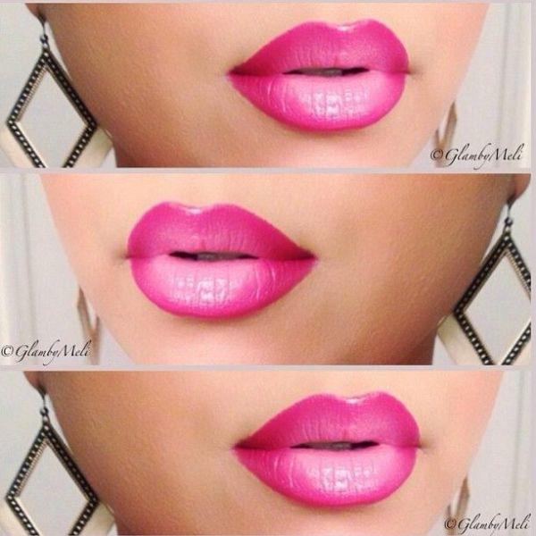 pink ombre lips by estelle