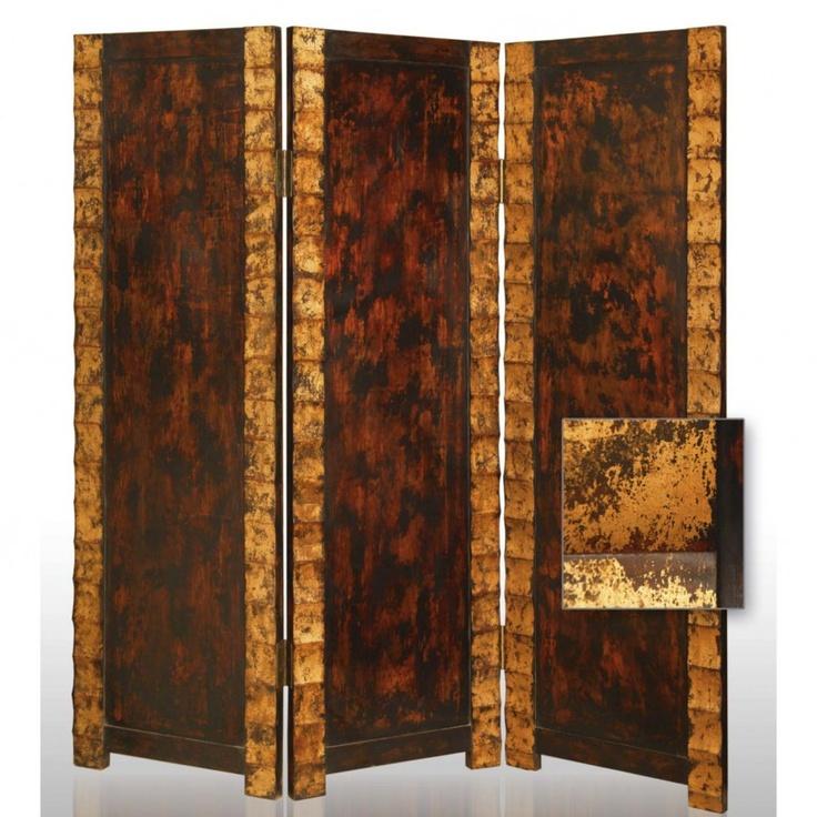 screen gems remington decorative folding room divider sg59