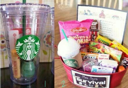 Cute Gift Basket For A Close Girlfriend