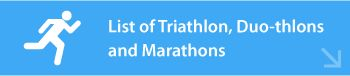 Athletic Events for all types of athlete's.  Triathlons, Running, and all sorts of physical activities!