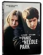 The Panic in Needle Park (1971). [R] 110 mins. Starring: Al Pacino, Kitty Winn, Alan Vint, Richard Bright, Raúl Juliá, Kiel Martin, Joe Santos, Paul Sorvino and Rutanya Alda
