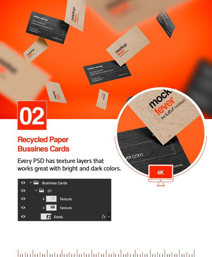 7 best Floating Business Cards Mockup images on Pinterest ...