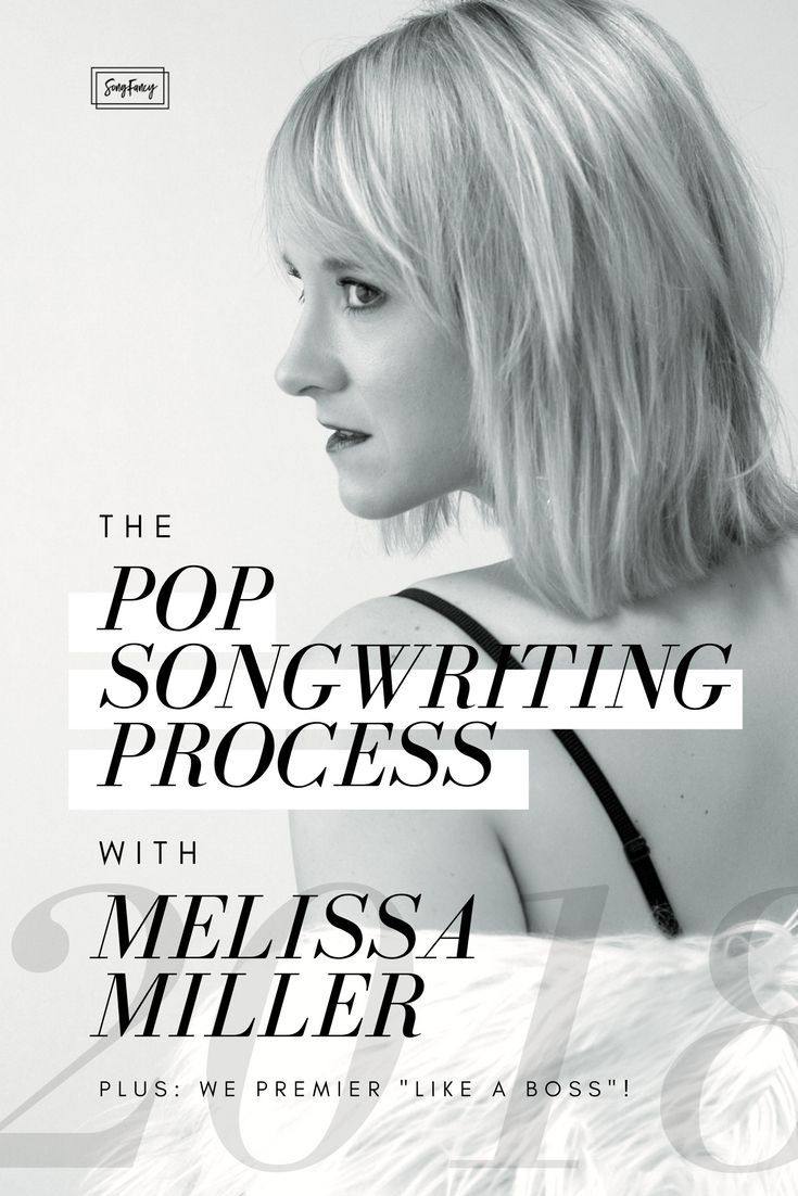 Melissa Miller is a pop artist based in Nashville, Tennessee, who writes highly melodic pop with rich visuals that inspire anyone who listens to (or even occasionally indulges in) Top 40 radio. Melissa shares with SongFancy some insights into her songwriting process, peeks into the writing room, what it's like writing with trusted cowriters, and a listen to her new single Like a Boss. On SongFancy.com, songwriting tips and inspiration for the contemporary songwriter.