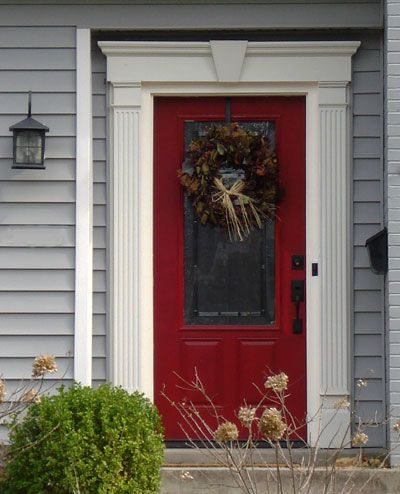 25 best ideas about red front doors on pinterest red doors red door house and exterior door trim - Heritage paint colours exterior pict ...