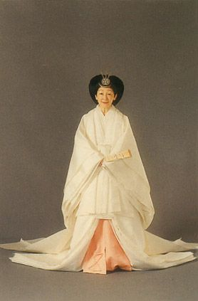 Her majesty the Empress Michiko
