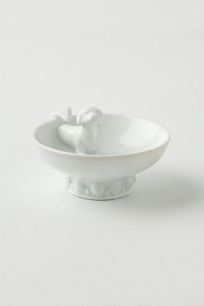 Perfect engagement gift for a dachshund lover! Sidekick Show-Off Ring Dish #anthropologie