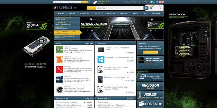 NVIDIA GeForce GTX Titan skin for Tones.be.
