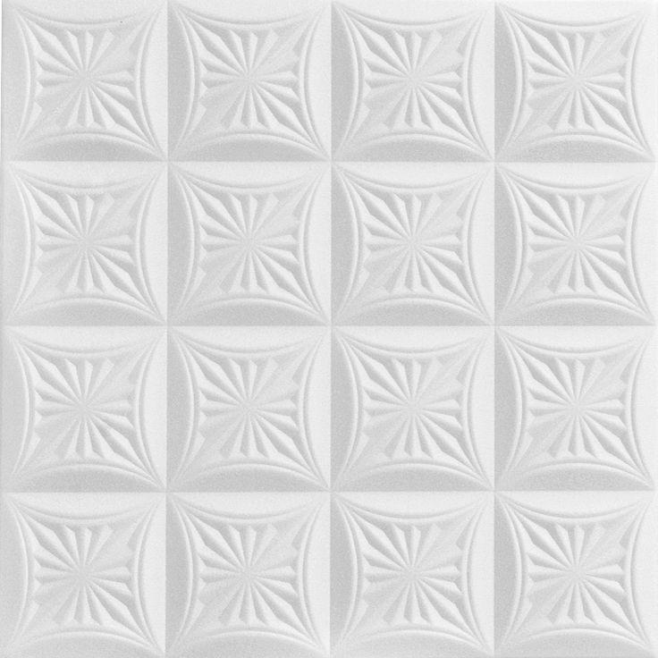 """Forest Fantasy - Styrofoam Ceiling Tile - 20""""x20"""" - #R 140"""