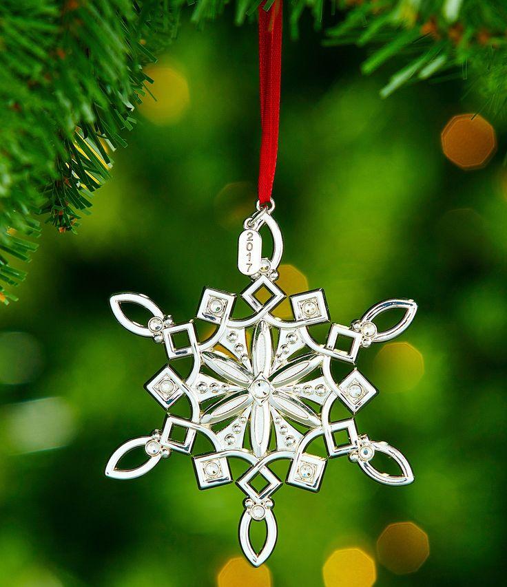 Lenox 2017 Snow Majesty Snowflake Ornament #Dillards