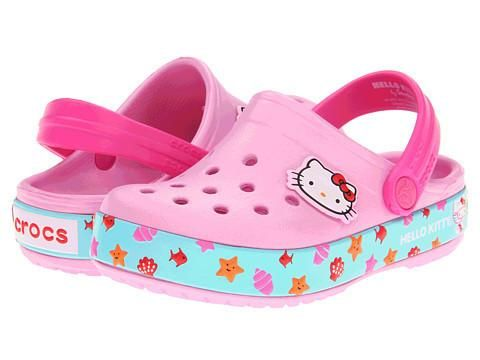 Crocs Hello Kitty for Lil' Girls  #Girls #Shoes