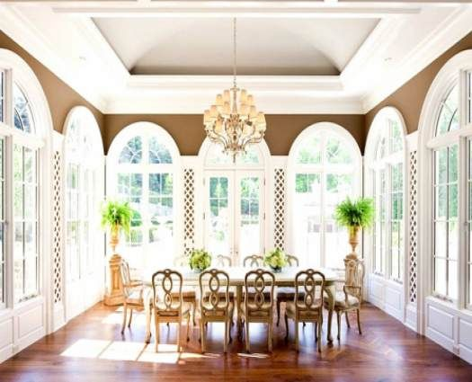 30 Big Sunroom Design With Dining Room Inside Jpg 525 215 425
