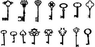 Resultado de imagen para tatuajes de cerradura y llave