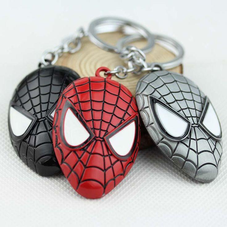 Super hero spider-man niesamowity spiderman brelok metalowy breloczek brelok breloczek k-154 1 pc