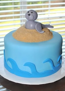9th birthday birthday cakes birthday ideas sea lions sweet cakes cake ...