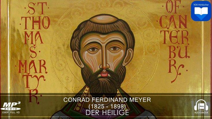 Hörbuch: Der Heilige von Conrad Ferdinand Meyer | Komplett | Deutsch