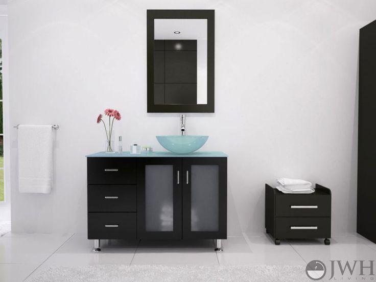 Black Vanity Cabinet Vessel Sink: 17 Best Ideas About Vessel Sink Vanity On Pinterest