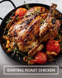 Banting Roast Chicken