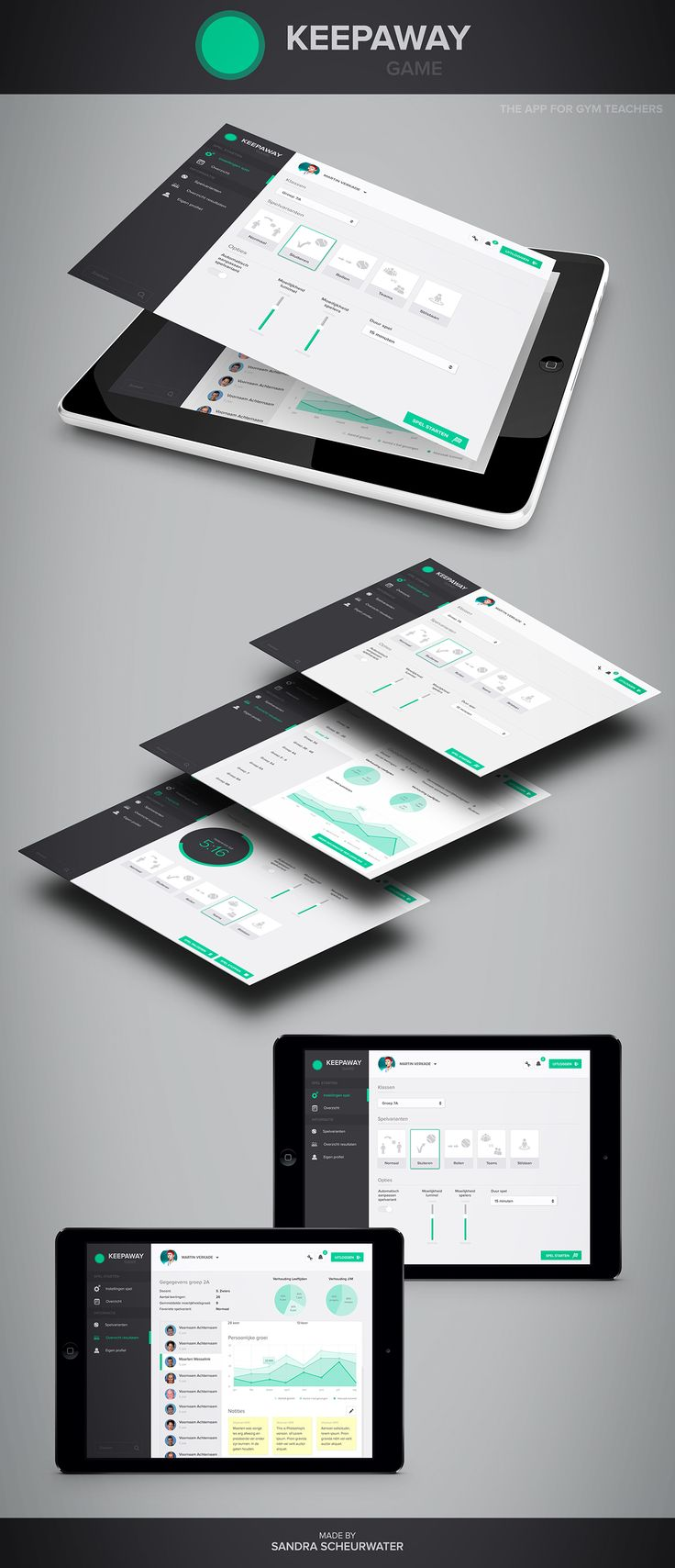 Keep Away Game App on Behance