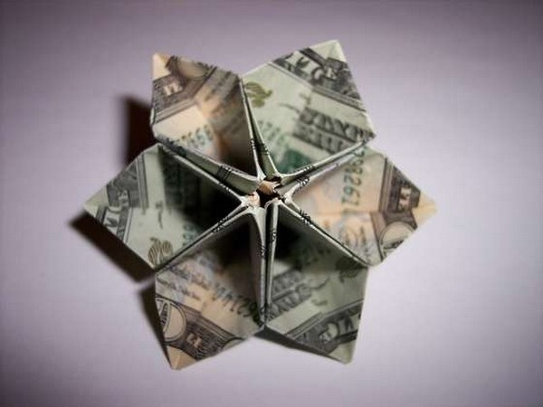 The 19 best m o n e y images on pinterest cash gifts dollar instructions included to fold this origami money flower from a dollar mightylinksfo